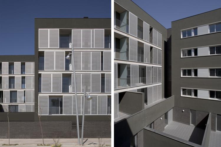 39 habitatges d 39 hpo en sant adri del bes s premios de for Besos en la oficina 2