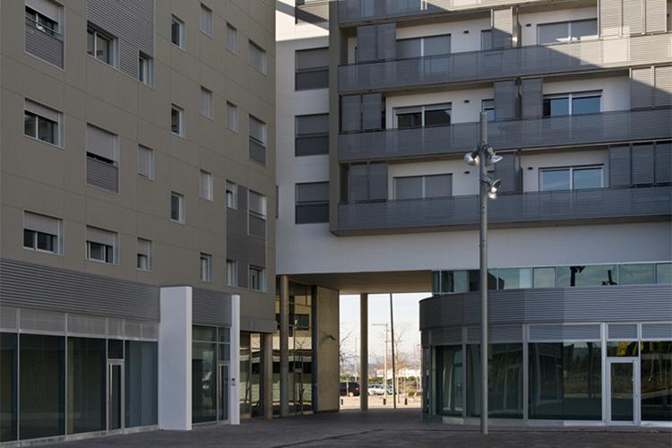 72 habitatges aparcaments i locals pla a dels - Arquitectura sant cugat ...