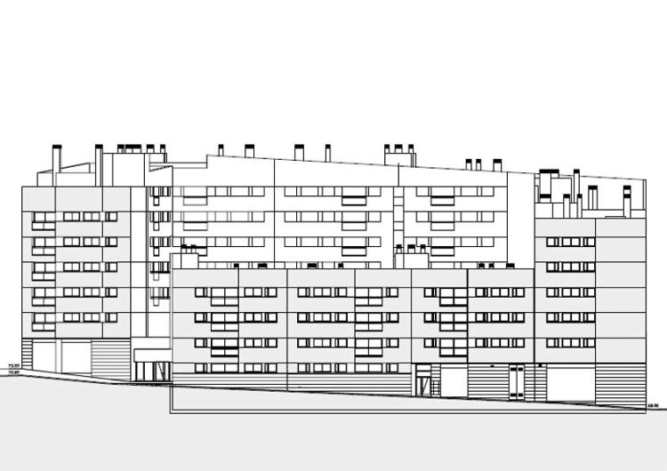 100 habitatges al 39 illa turo de la peira premis d for Oficina habitatge girona