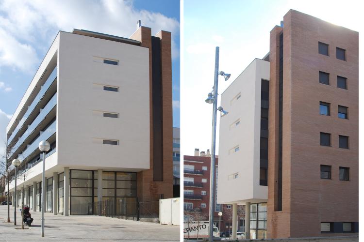 92 habitatges de protecci oficial a can llong de sabadell for Oficinas sabadell zaragoza