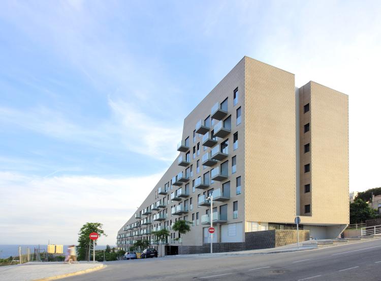 103 habitatges de protecci oficial tur del sastre mongat barcelona iii muestra de - Pis proteccio oficial barcelona ...