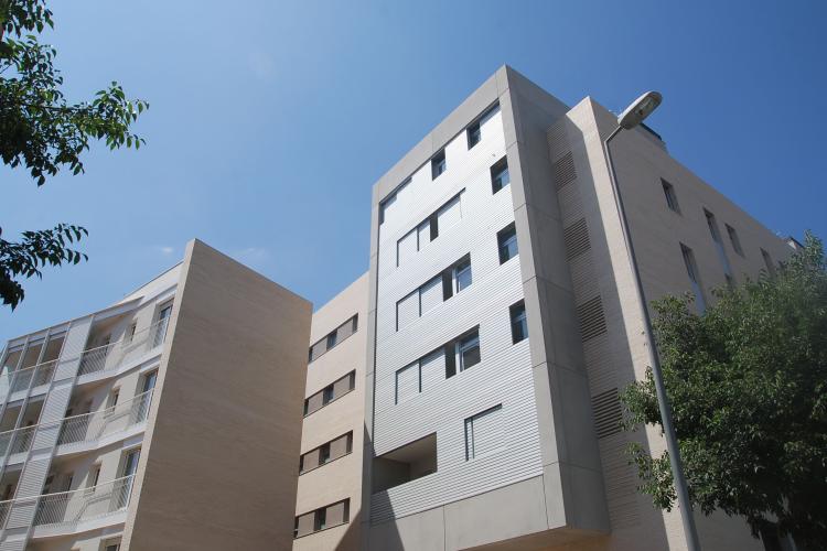 69 viviendas de protecci n oficial en sabadell premios de arquitectura - Casas proteccion oficial ...
