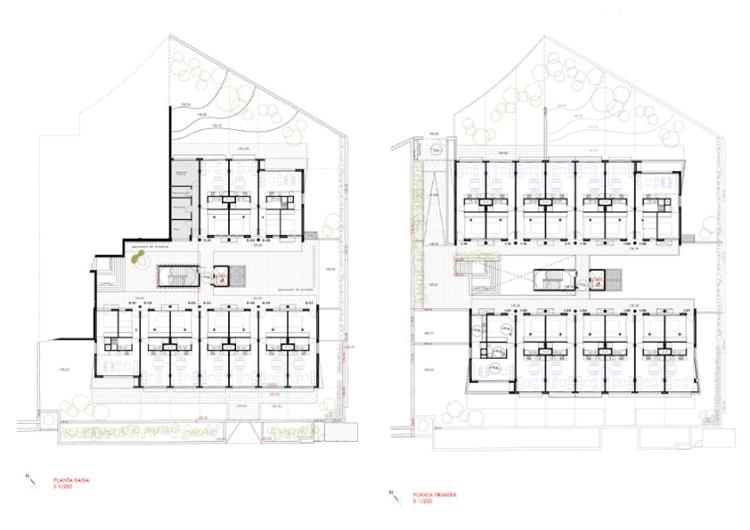 59 habitatges per a joves a la avinguda de can minguet de for Arquitectura tecnica a distancia