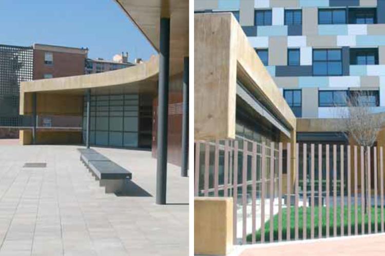 M canisation de construction alexandra premios de for Architecture ephemere definition